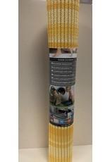 DUTCH HOUSE Antislip mat /universele mat geel 65X180 Geschikt voor sauna/ vloerverwarming/ badkamer/binnen en buiten het huis
