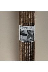 DUTCH HOUSE Antislip mat /universele mat bruin 65X180 Geschikt voor sauna/ vloerverwarming/ badkamer/binnen en buiten het huis