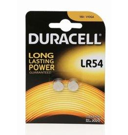 DURACELL Batterij Duracell Alkaline LR54 1.5V - blister 2