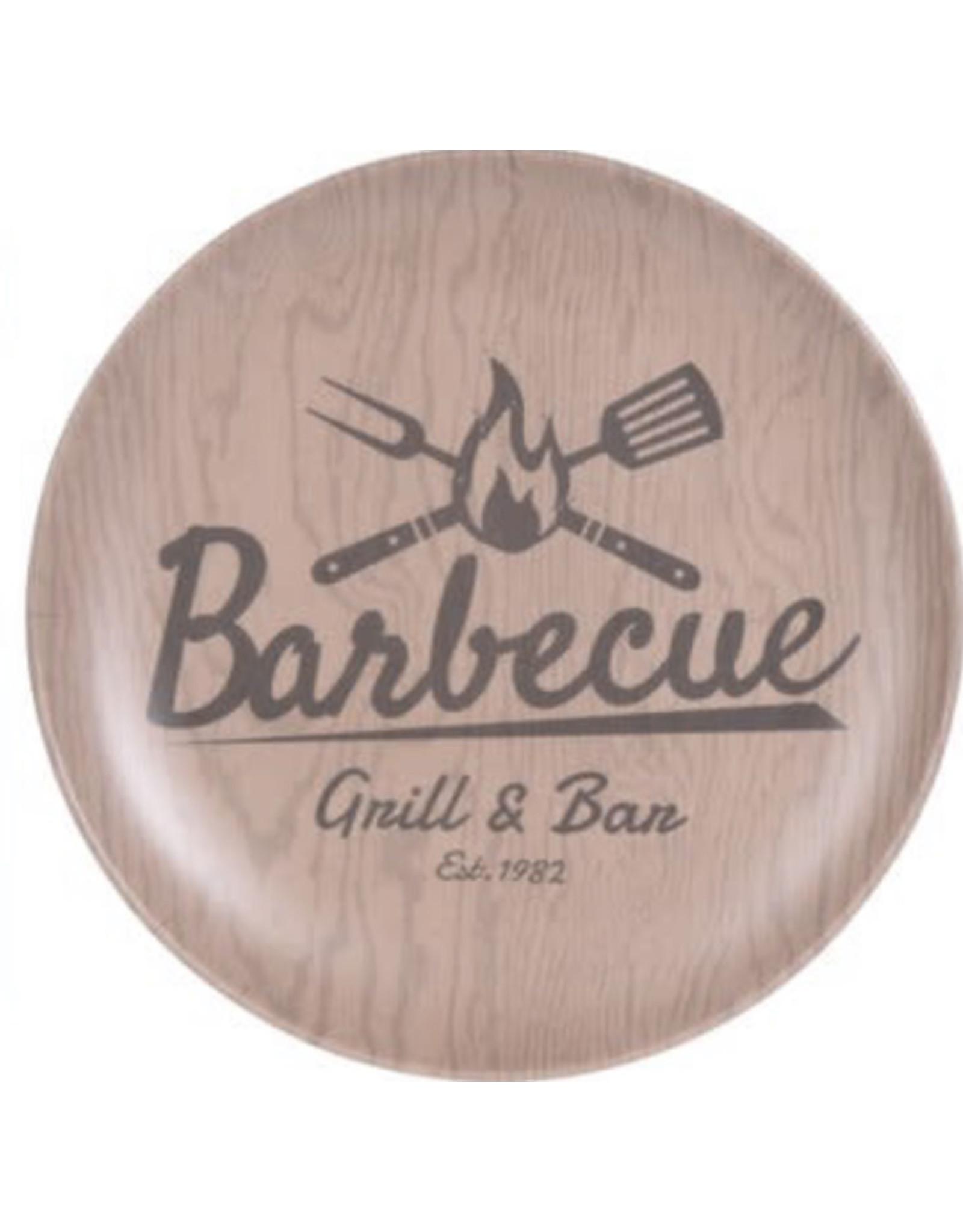 MERKLOOS BARBECUE PLATTE BORD 24,5CM BAMBOE