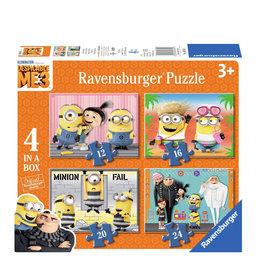 RAVENSBURGER Ravensburger puzzelset Verschrikkelijke Ikke 3 Min