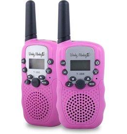 WONKY MONKEY Wonky Monkey walkie talkie set - roze