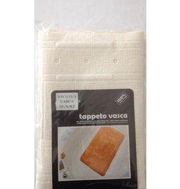 WICOTEX Antislip badmat 36x82cm wit