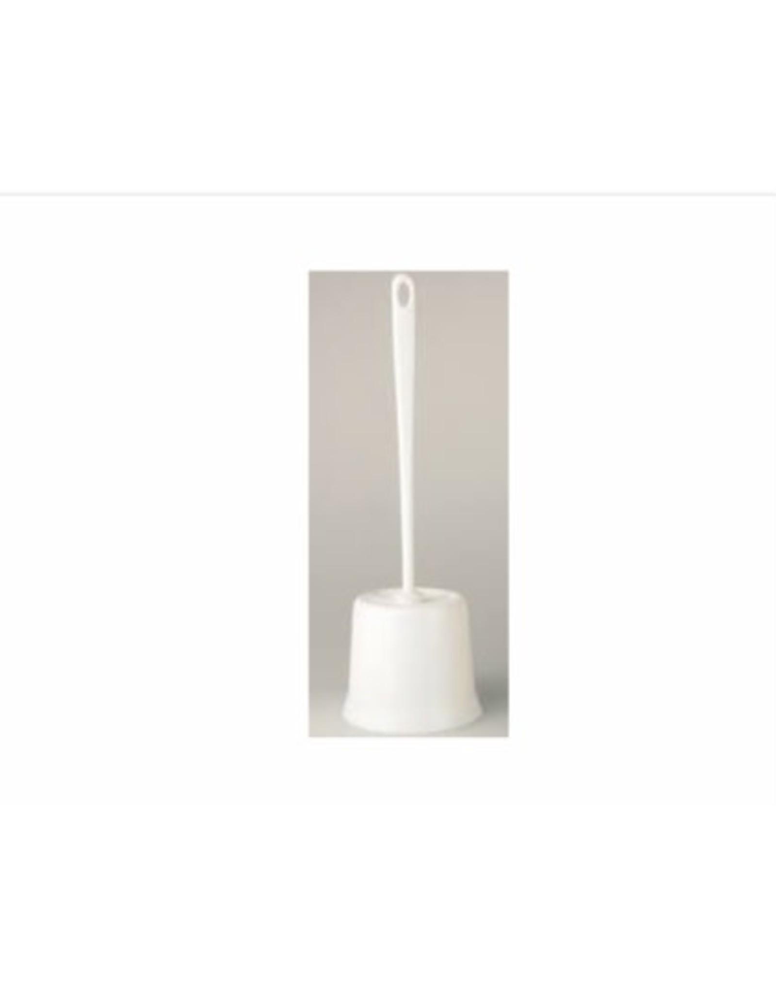 MERKLOOS Toiletgarnituur rond wit