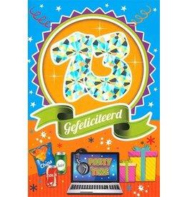 MGP CARDS Wenskaart MGP CARDS 13 gefeliciteerd met envolop