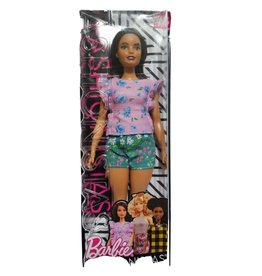 MATTEL Barbie Fashionistas Florals Frills - Curvy - Barbi