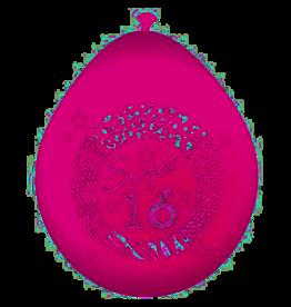 FOLAT Ballonnen Sweet 16 8 stuks