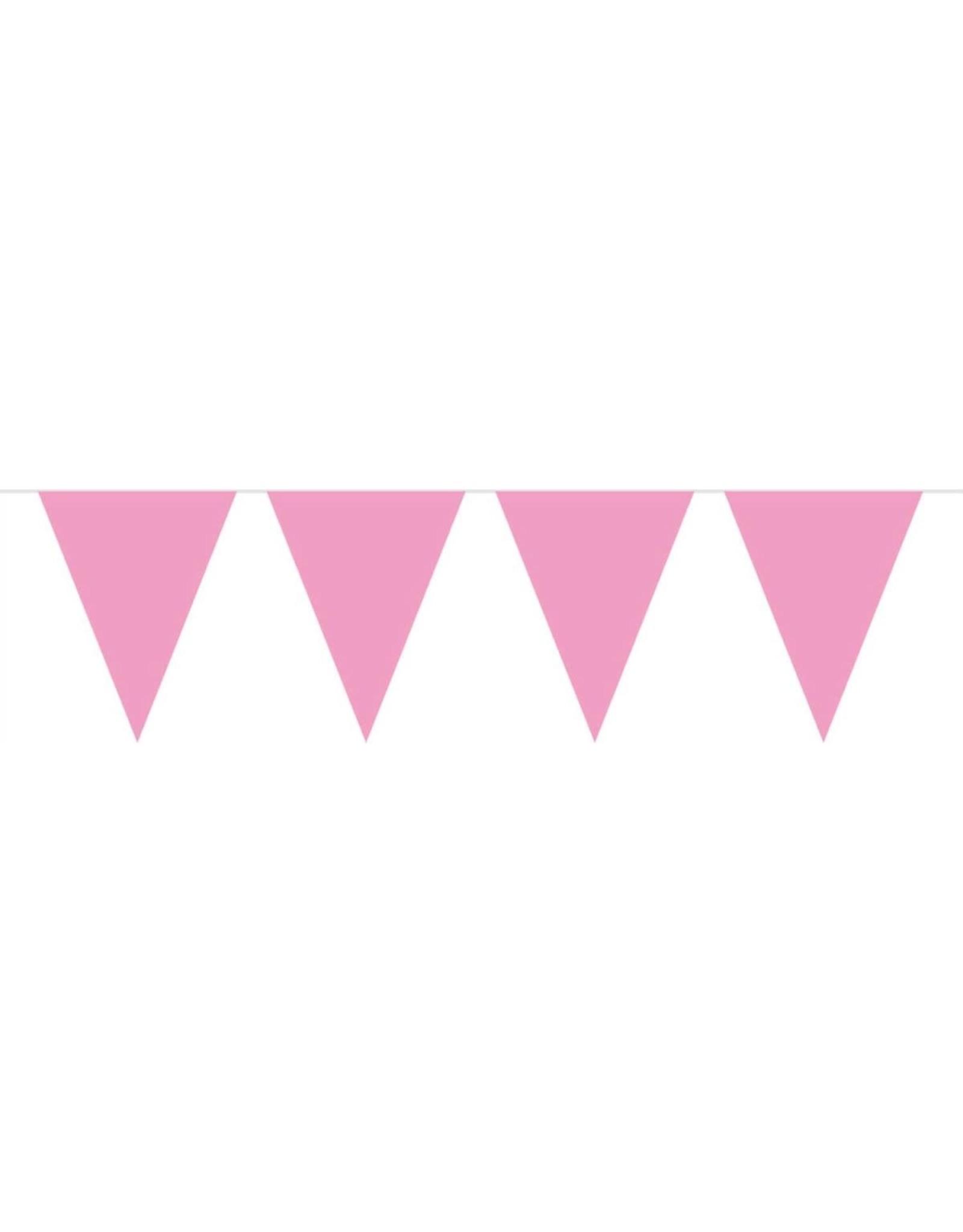 FOLAT Baby Roze Vlaggenlijn - 10 meter