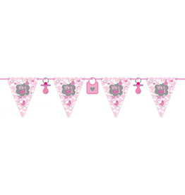 FOLAT Geboorte Meisje Vlaggenlijn It's a Girl - 6 meter