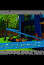FOLAT Afzetlint Hoera een jongen 15 meter blauw