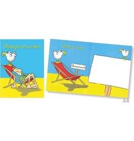 MGP CARDS Wenskaart A4 MGP CARDS-gestopt met werken- met envolop