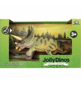 JOLLITY JollyDinos Pentaceratops speelfiguur