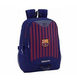 FCBARCELONA Rugzak Barcelona Rood/blauw Stripes: 44x32x17 Cm