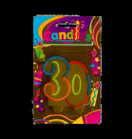 Verjaardagskaars - 30 jaar