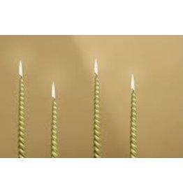 Verjaardag kaarsen goud 12 stuks -taart versieren