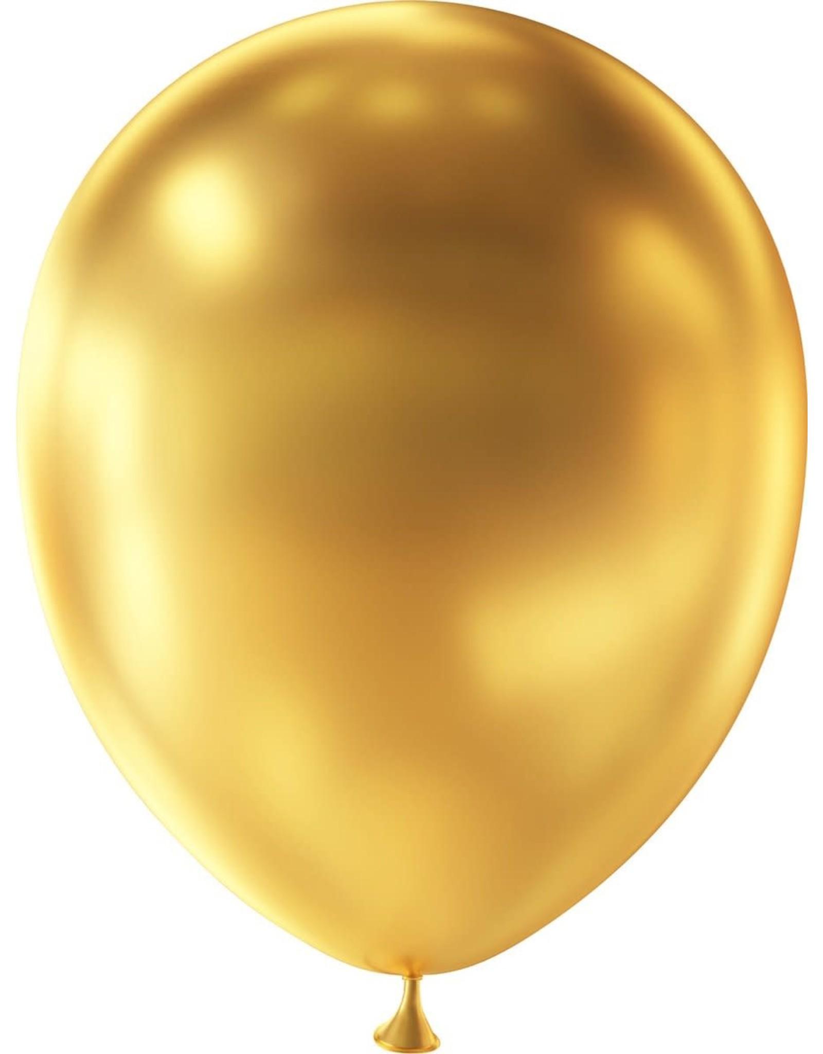 FOLAT Ballonnen Metallic 10 stuks 30cm