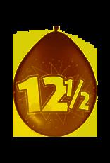 FOLAT 12,5 Jaar Ballonnen Koperen jubileum - 8 stuks