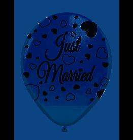 FOLAT Just Married Ballonnen 30cm 8 stuks