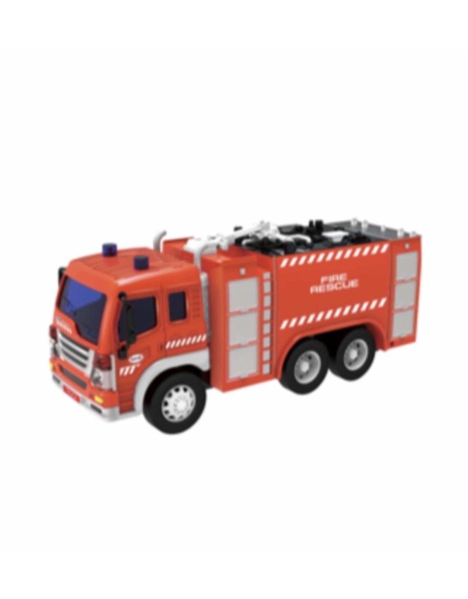 JOLLITY Brandweerwagen met licht en geluid 1:16