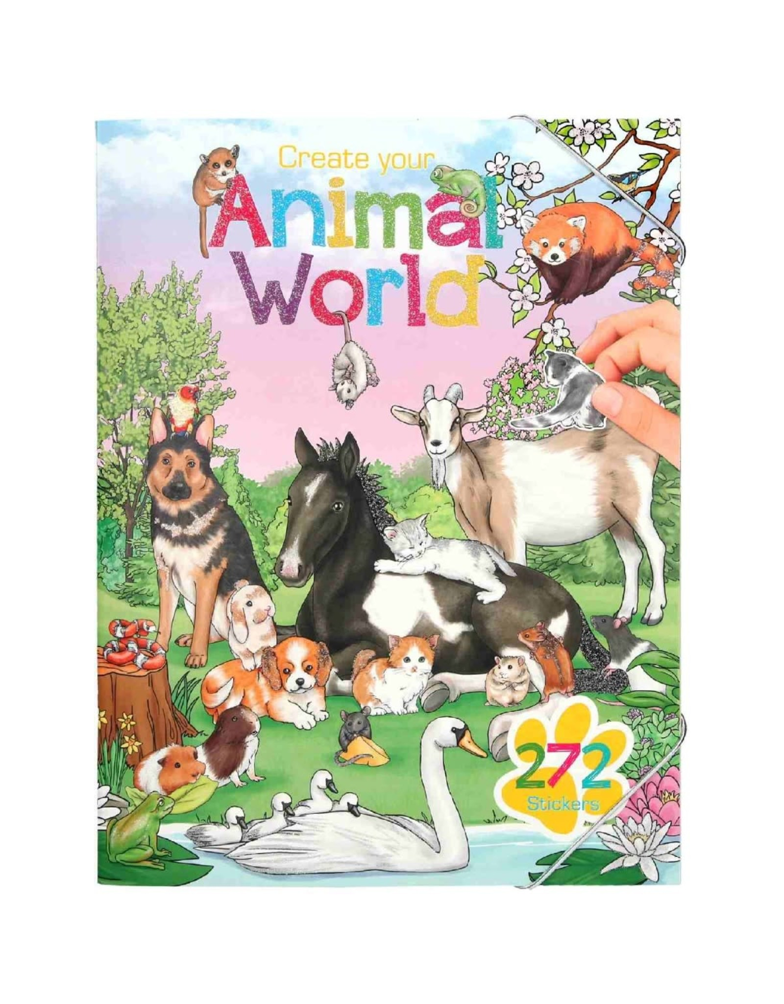 Depesche Animal world stickerboek