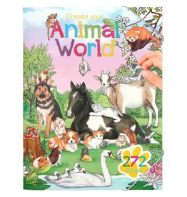 Depesche Animal world stickerboek