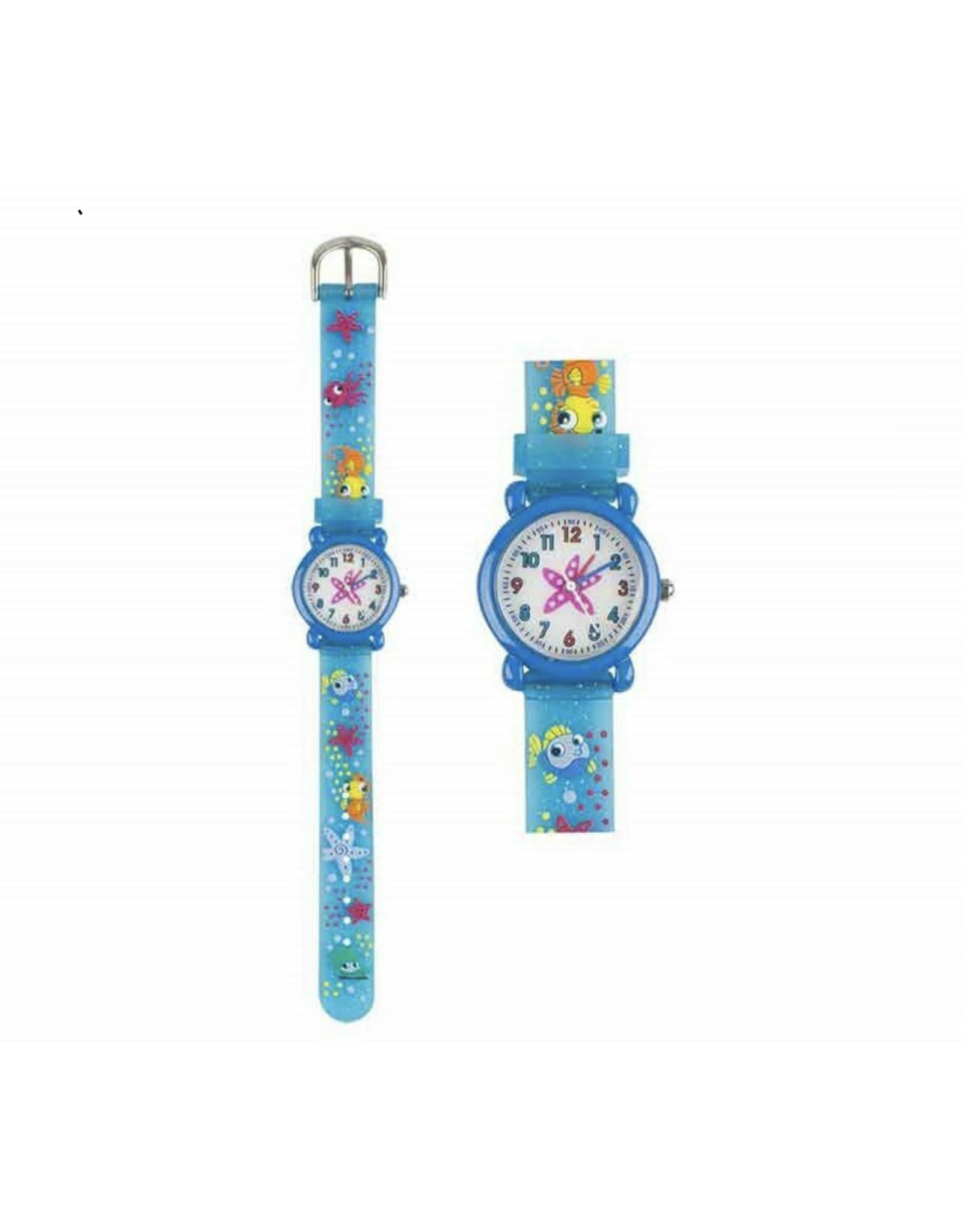 BB Bb kinder horloge diepzee