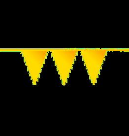 Vlaggenlijn geel 10 meter
