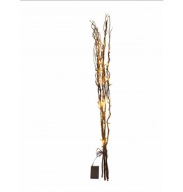 TAKKENBOS MET VERLICHTING BRUIN 120CM 30 LAMPJES