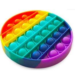 Pop it regenboog rond fidget toys