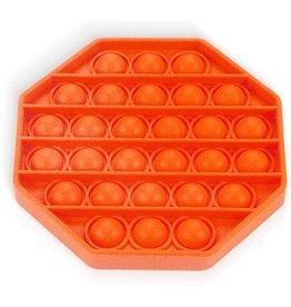 Pop it acht hoek oranje fidget toys