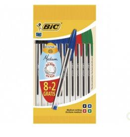 BIC BIC 10 BALLPOINTS CRISTAL