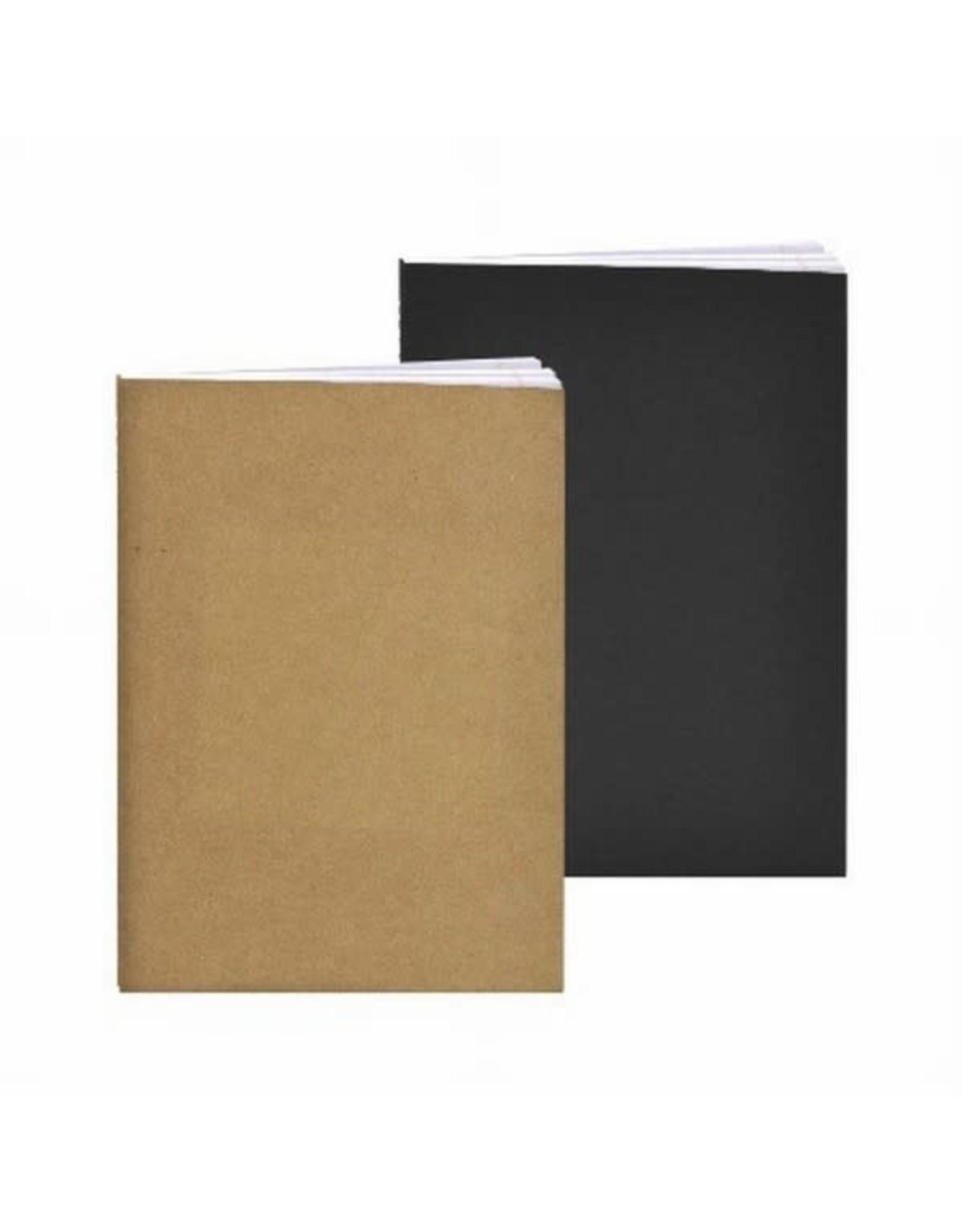 a5 tekenboek harde kaft zwart