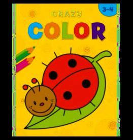 Crazy color - kleurboek - 3-4 jaar