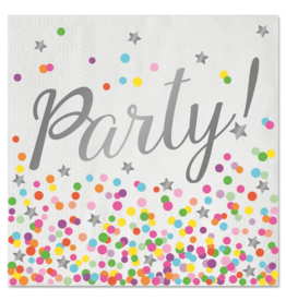 FOLAT Servetten Confetti Party 33x33cm