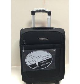 Snowball Handbagage koffer snowball 42X32X25 cm zwart