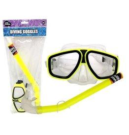 JOLLITY JollyOutside Duikbril+snorkel geel