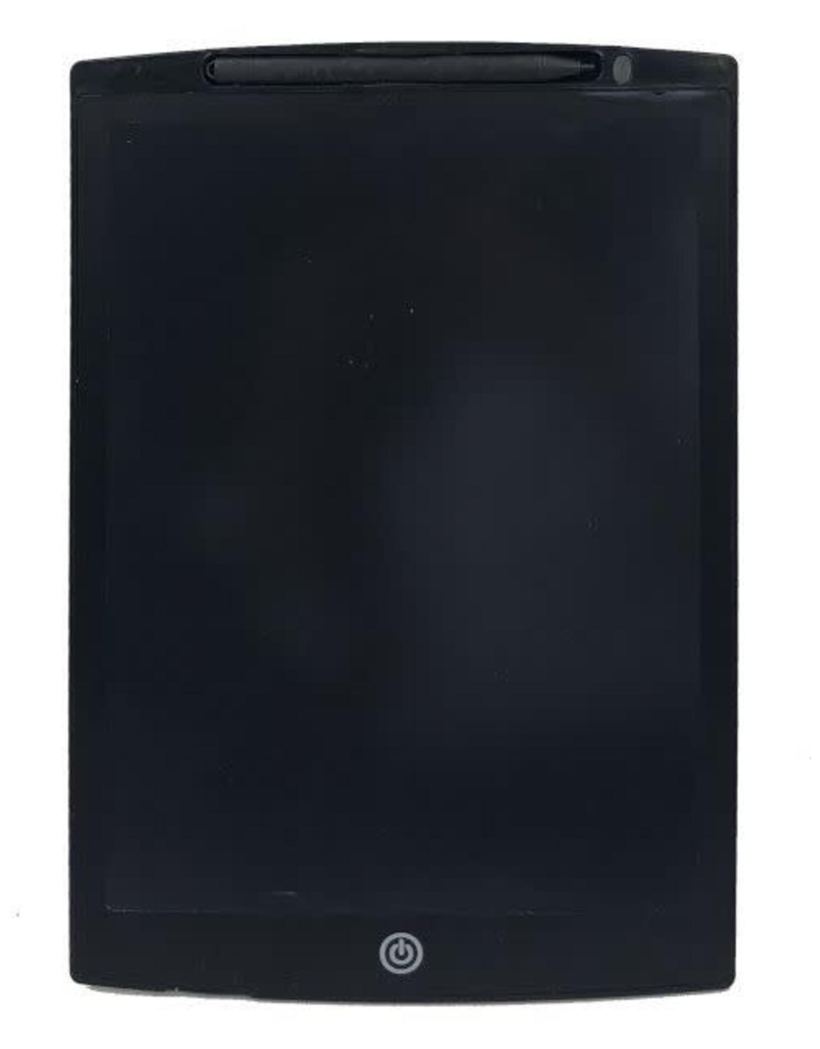 "12""LCD writing tablet black"