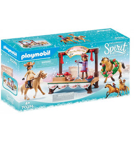 PLAYMOBIL PLAYMOBIL Spirit Riding Free - Kerstmis Concert (70396)