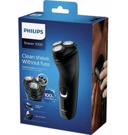 PHILIPS Philips scheerapparaat series 1000 S1232/41 - zwart