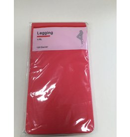 LEGGING L/XL KORAAL ROOD