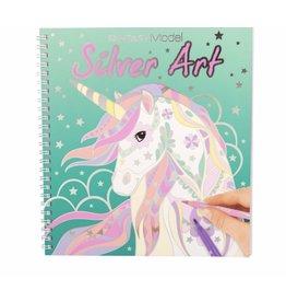 TOPMODEL TOPModel FANTASYModel Silver Art kleurboek