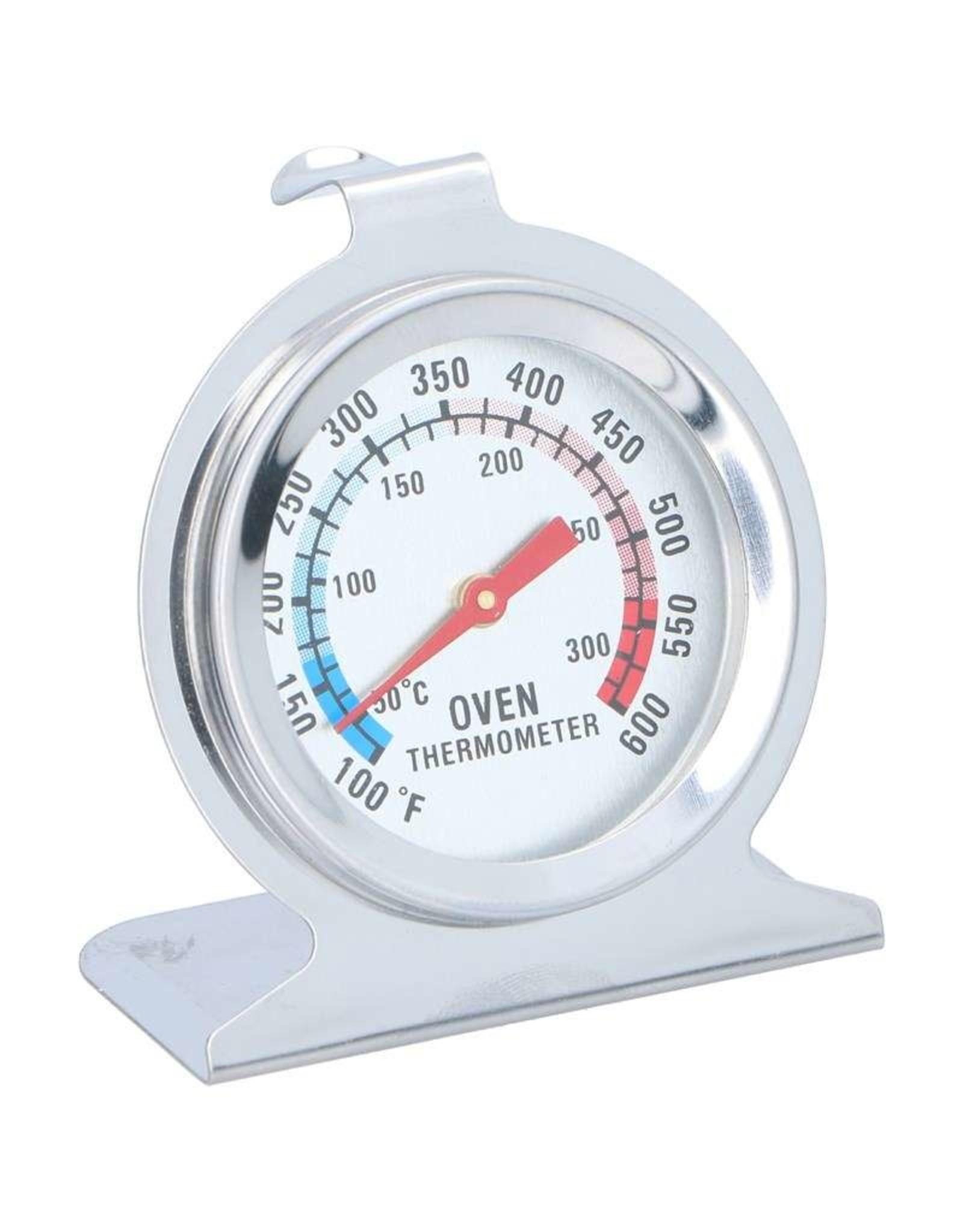 Alpina Oven Thermometer RVS D6xH6,5cm