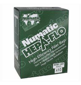 NUMATIC Numatic NVM-1CH HepaFlo stofzuigerzak - 10 stuks