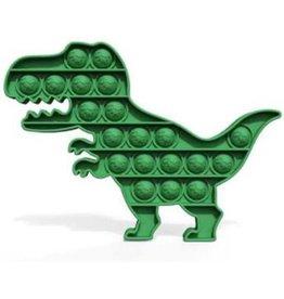 Pop it fidget toys dino Groen