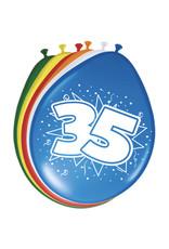 FOLAT 35 Jaar Ballonnen 30cm 8 stuks