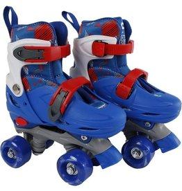 Rolschaatsen Street Rider blauw/grijs maat 31- 34