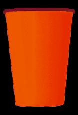 8 oranje bekers