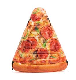 INTEX Intex luchtbed pizzapunt 175 x 145 cm bruin