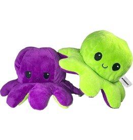 Octopus mood paars groen