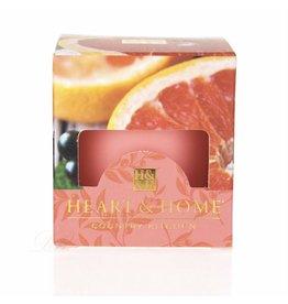 HEART & HOME Heart & Home Votive -  Pink Grapefruit & Cassis